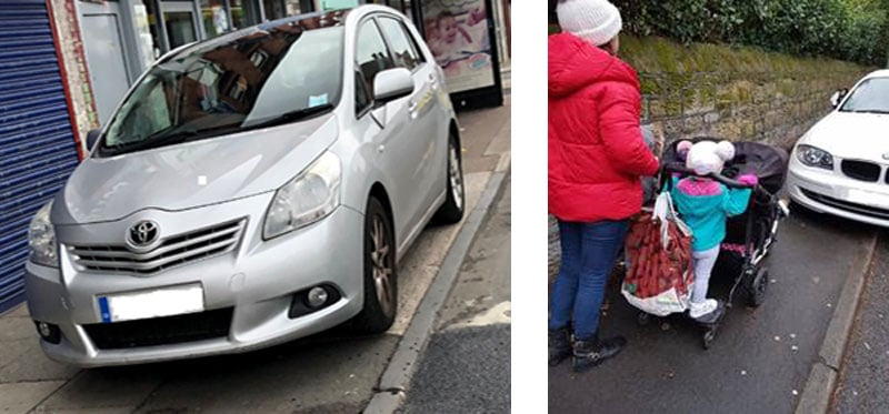images of pavement parking